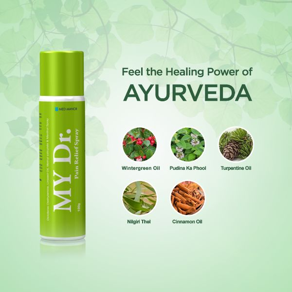 feel the healing power of ayurveda with my dr spray