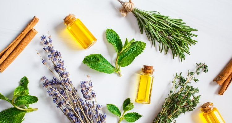 Items for Aromatherapy